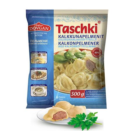 Taschki turkey meat pelmeni 500g