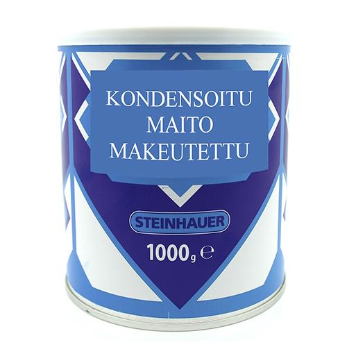 Condensed milk, sweetened 1000g