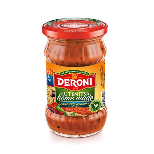 Lutenitsa, paprika-tomato paste