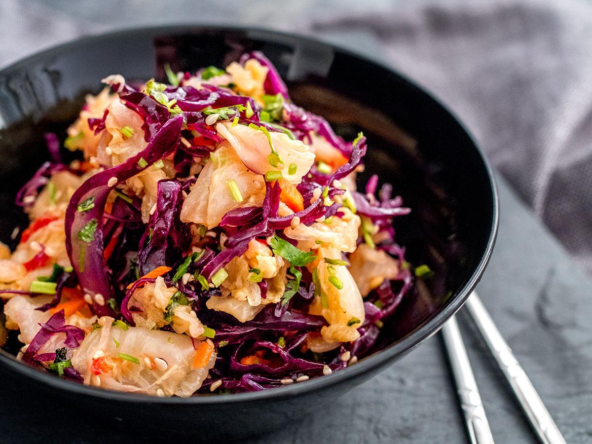 Kimchi aasialainens alaatti