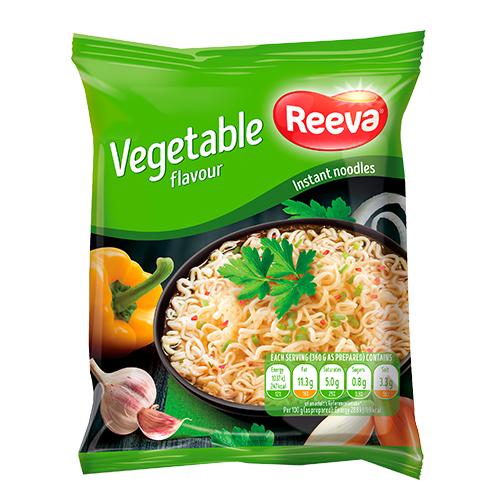 Вермишель быстрого приготовления со вкусом овощей