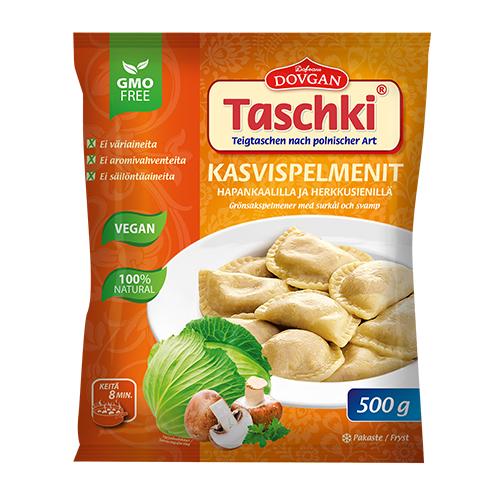 Taschki Vegetable pelmeni 500g