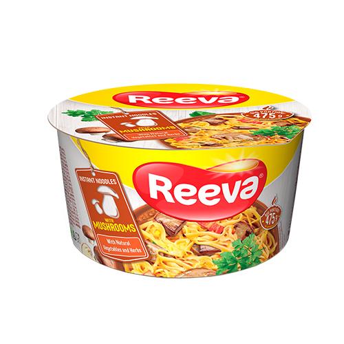 Reeva cup noodle, mushroom 75g
