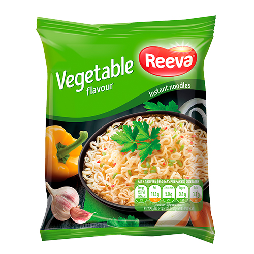 Reeva noodle, vegetable 60 g