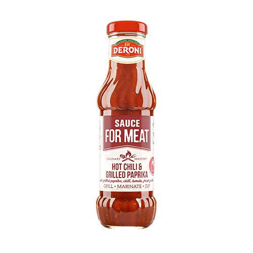 Tomato sauce chili & grilled paprika 330g