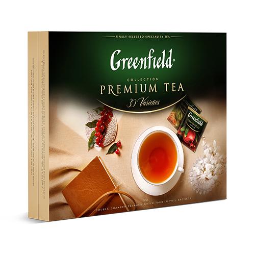 Коллекция чая Greenfield