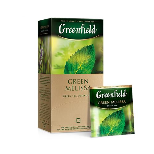 Green Melissa зеленый чай