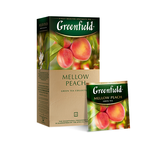 Mellow Peach зеленый чай